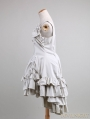 Ivory Victorian Style High-Low Classic Lolita Dress