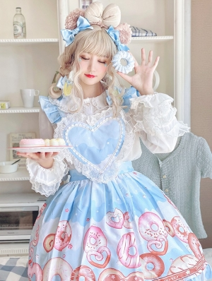 The Donut Maid Sweet Lolita Skirt