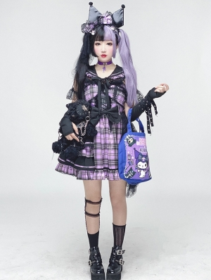 The Shinning Idol Punk Style Sweet Lolita JSK Dress Short Ver.