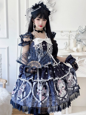 Mrs Cat Sweet Lolita JSK Dress