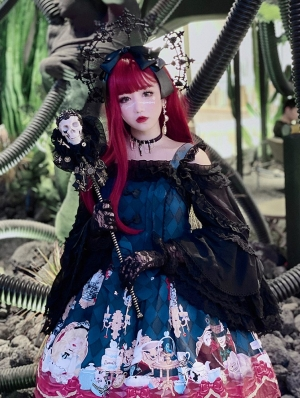 The Mad Hatter and Alice Sweet Lolita JSK Dress