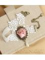 White Lace Flower Lolita Ankle Bracelet