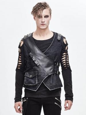 Vintage Gothic Vest for Men