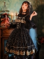 Stars In Dreams Black Gothic Lolita JSK Dress