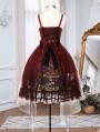 The Putrid Forest Red Gothic Lolita JSK Dress