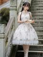 The Compendium Of Materia Medica Pattern Irovy Classic Lolita JSK Dress