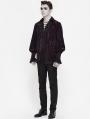 Dark Vintage Gothic Loose Long Sleeve Shirt for Men