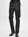 Black Vintage Gothic Jacquard Party Pants for Men
