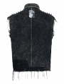 Do Old Gothic Punk Heavy Metal Vest Top for Men