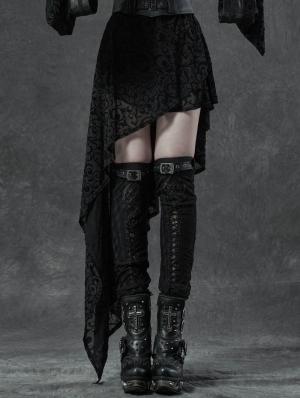 Black Gothic Gorgeous Lace Leg Sleeve for Women