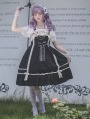 Black / Red / Pink Infanta Elena's Vow Sweet Lolita JSK Dress