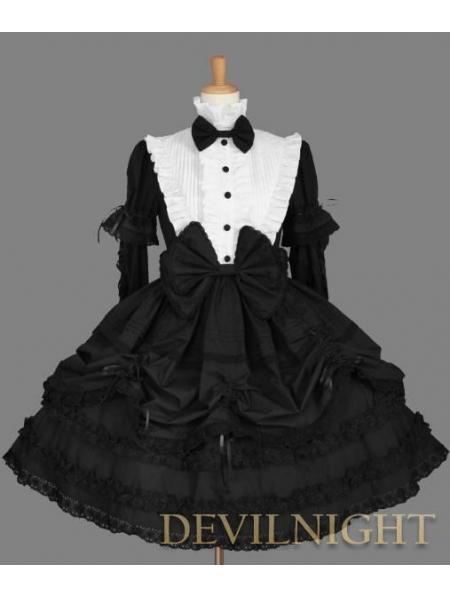 e46c82243b9 Lolita Cosplay Dress. Mitsuyo Nu-Lolita dress Killstar 2929. Code  ... Gothic  Halter Strapped Lolita Dress for Women Evil Pumpkin Printing Sleeveless ( Black ...