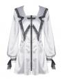 The Underworld Butterfly Asceticism White Dark Gothic Short Dress
