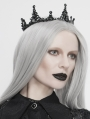 Black Vintage Gothic Queen Crown Headdress