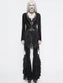 Black Vintage Gothic Sexy Velvet Lace Jacket for Women