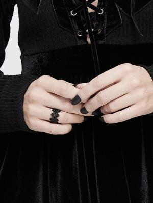 Black Gothic Vintage Ring
