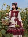 Little Red Riding Hood Pastoral Sweet Lolita OP Dress