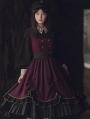 Magical Girl Fake Two-Piece Classic Lolita OP Dress