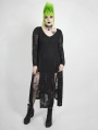 Back Gothic Punk Dark Snake Scale Long Plus Size Dress