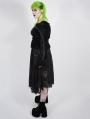 Black Romantic Gothic Lace Plus Size Skirt