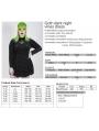 Black Gothic Velvet Heart Long Sleeve Short Plus Size dress