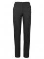 Black Vintage Gothic Party Simple Long Pants for Men
