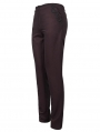 Dark Red Vintage Gothic Party Simple Long Pants for Men