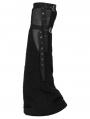 Black Gothic Punk Girls Leg Sleeve for Women
