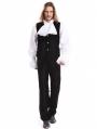 Black Velvet Vintage Gothic Pants for Men