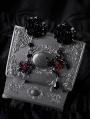 Gothic Dark Rose Blood Spider Earrings