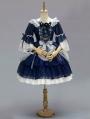 Neverland Night Star Flower Gorgeous Mid-Sleeve Lolita OP Dress