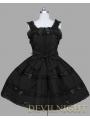 Black Sleeveless Sweet Gothic Lolita Dress