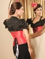 Red Underbust Waist Training Gothic Corset