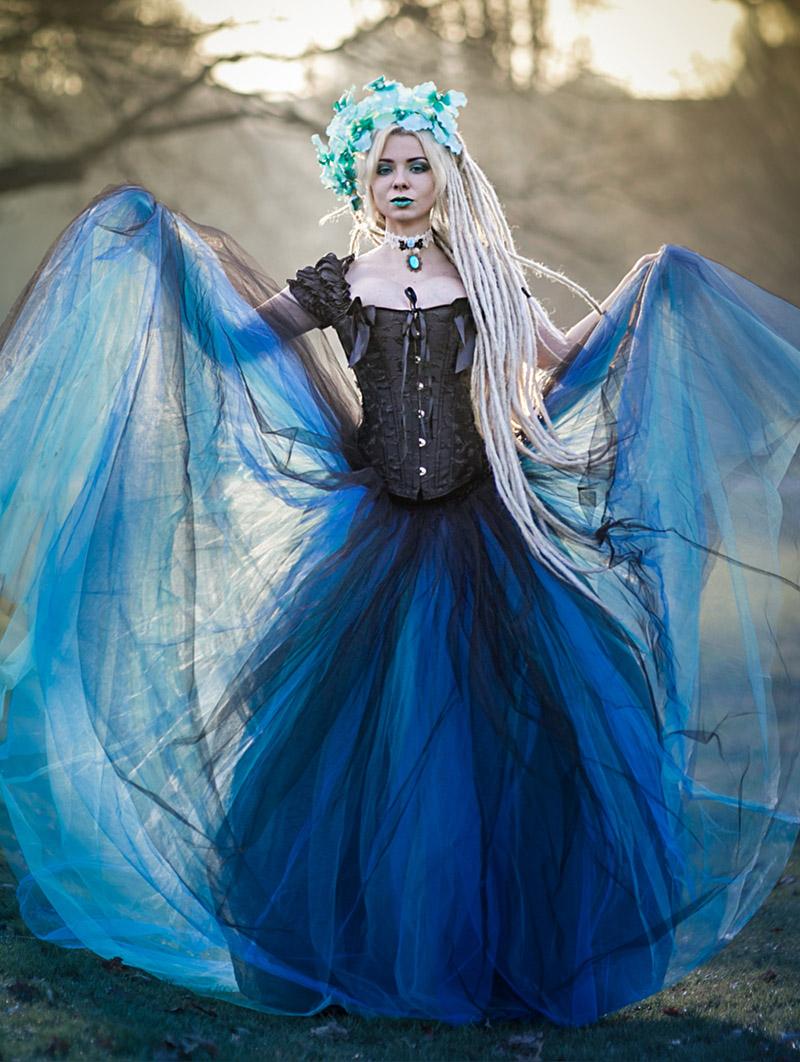 Unique Black Gothic Prom Dress Image - All Wedding Dresses ...